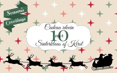 10x Cadeau ideeën voor Sinterklaas of Kerst onder 15 euro