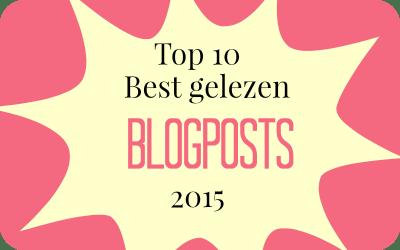 Top 10 Meest gelezen blogposts uit 2015