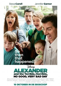 Alexander and the Terrible Horrible No Good Very Bad Day poster