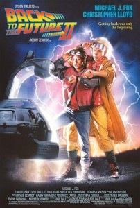 Back to the Future Part 2 poster