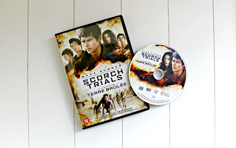 DVD Maze Runner The Scorch Trials