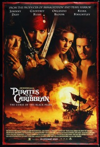 Pirates of the Caribbean - The Curse of the Black Pearl poster