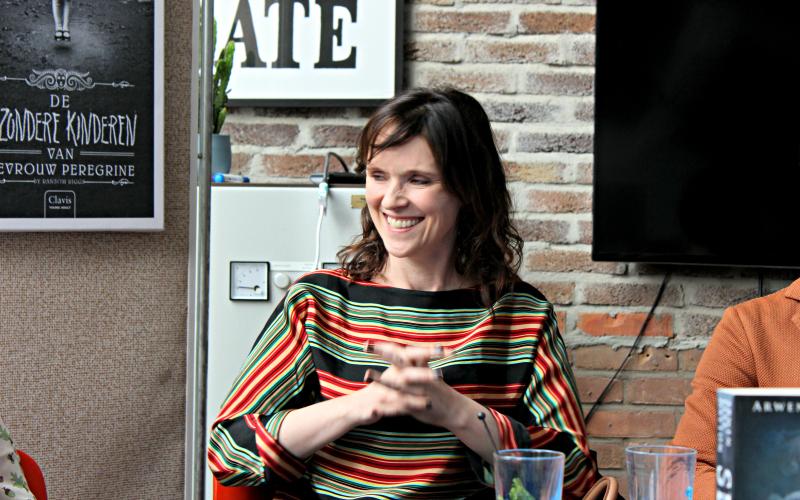 Arwen Elys Dayton - Yalfest Persconferentie