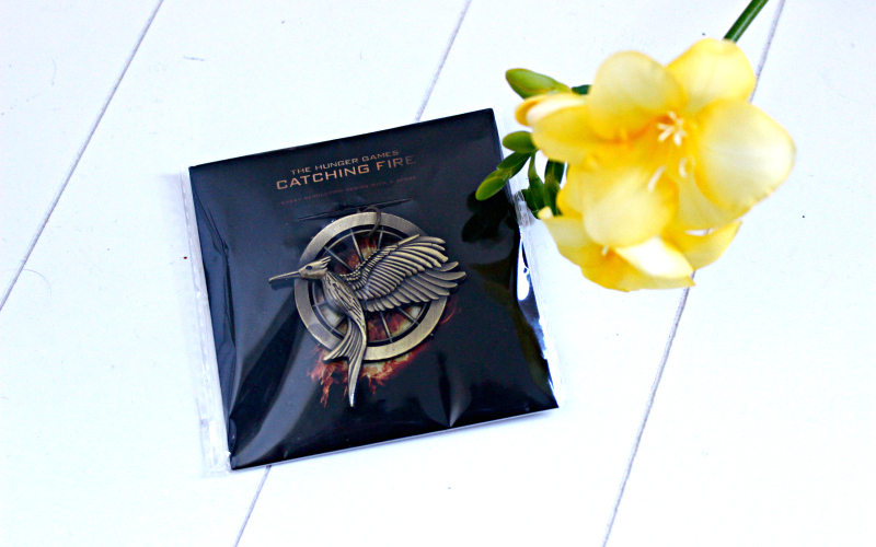 Celebrate Books - April - Catching Fire sleutelhanger