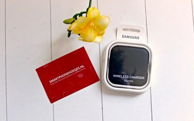 Draadloos opladen met de Samsung Wireless Charger
