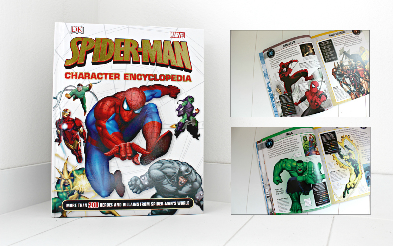 Spider-Man character encyclopedia - DK