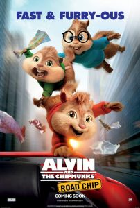 Alvin and the Chipmunks Road Chip poster