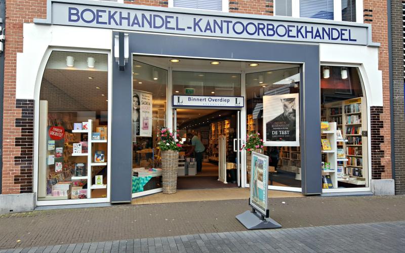 Boekhandel Binnert Overdiep
