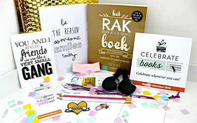 """Unboxing   Celebrate Books """"Good Vibes Only"""""""