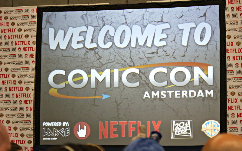 Amsterdam Comic Con Welkom
