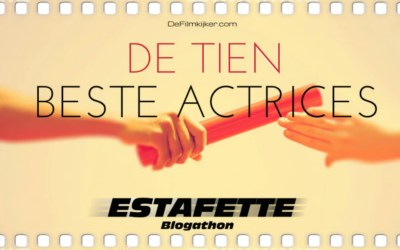"De Tien | Beste actrices ""estafette race"""