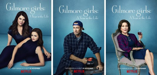 Gilmore Girls A Year in the Life character posters