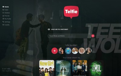 Telfie | Het social network voor entertainment
