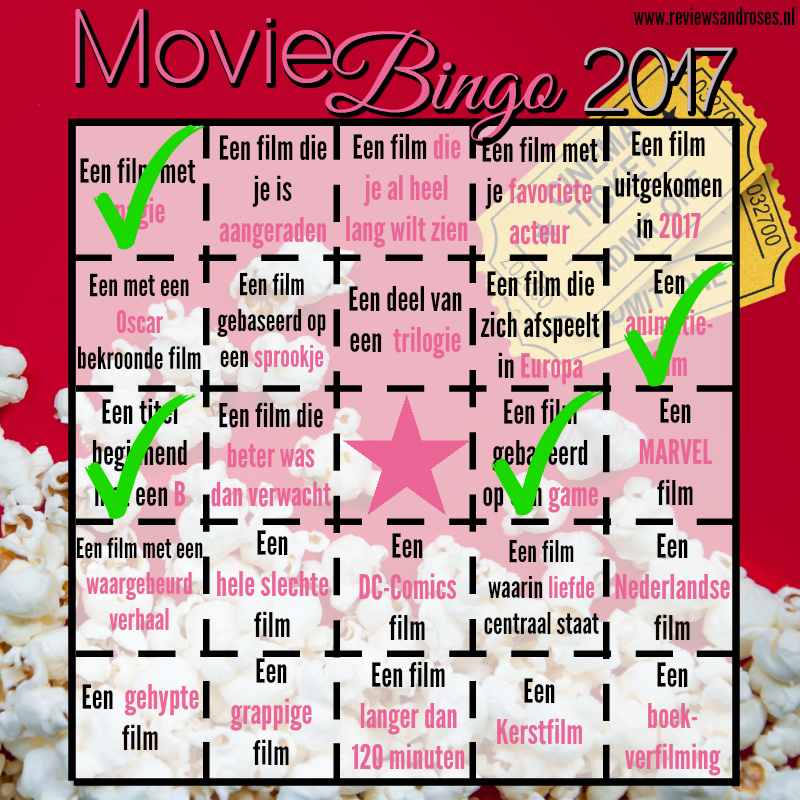 Movie Bingo - Update Januari