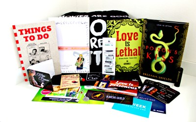 Unboxing | Celebrate Books – Love is Poisonous