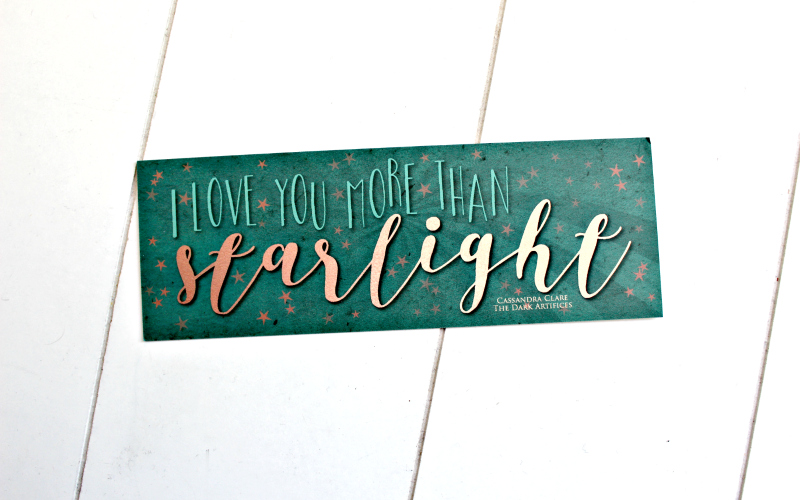 Starlight bookmark