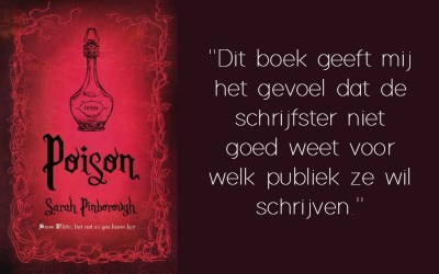 Boekrecensie | Poison – Sarah Pinborough