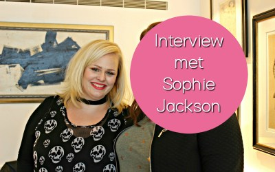 Interview met… New Adult auteur Sophie Jackson!