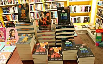 In gesprek met Sophie Jackson bij Boekhandel Haasbeek