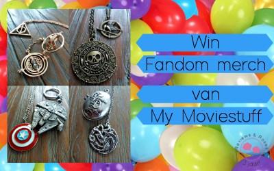 13 Days of Celebration #6   Win Fandom merchandise van My Moviestuff {Afgelopen}