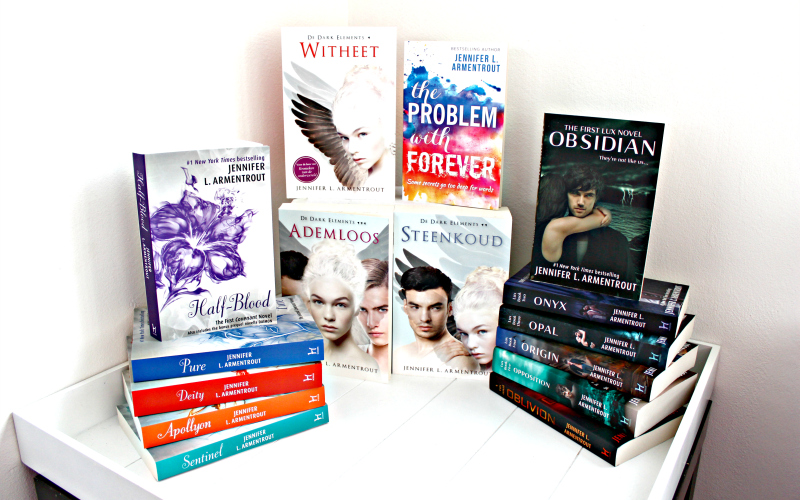The Covenant Series - The Dark Elements series - The Lux series - The Problem with Forever - Jennifer L. Armentrout