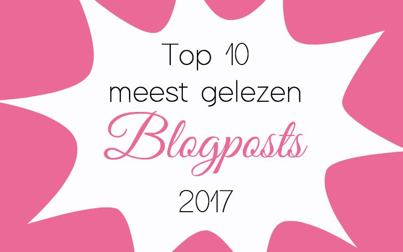 Top 10 Meest gelezen blogposts 2017