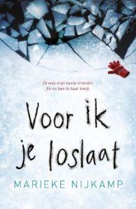 Boekrecensie | Voor ik je loslaat – Marieke Nijkamp
