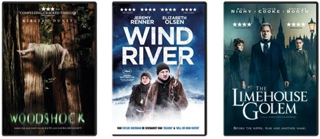 Woodshock - Wind River - The Limehouse Golem