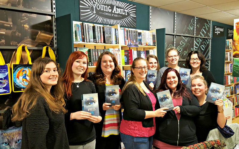 The Awesome Book Club leest Vrees Me