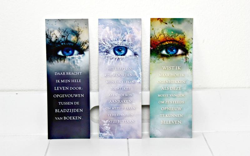 Boekenleggers Touching Juliette-serie