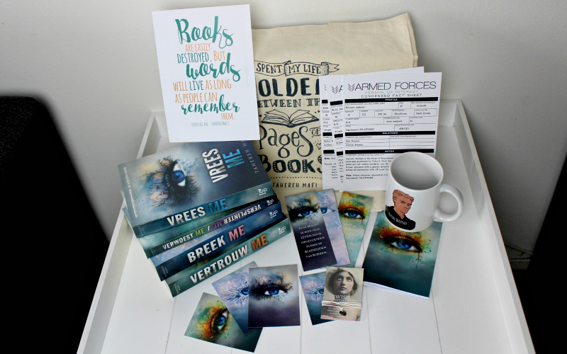 Unboxing | Celebrate Books – Tahereh Mafi Special: Touching Juliette-serie