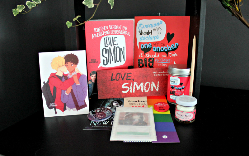 Unboxing | Celebrate Books – Love, Simon Special