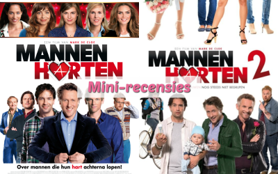 Mini-recensies #6 | Mannenharten & Mannenharten 2