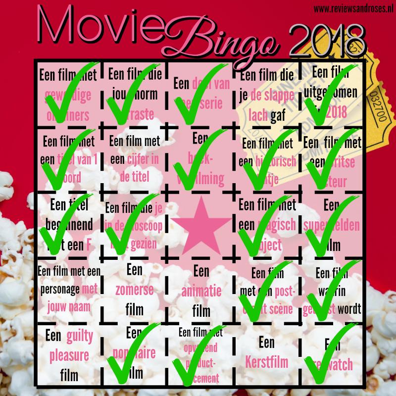 Movie Challenge 2018 - Update 2