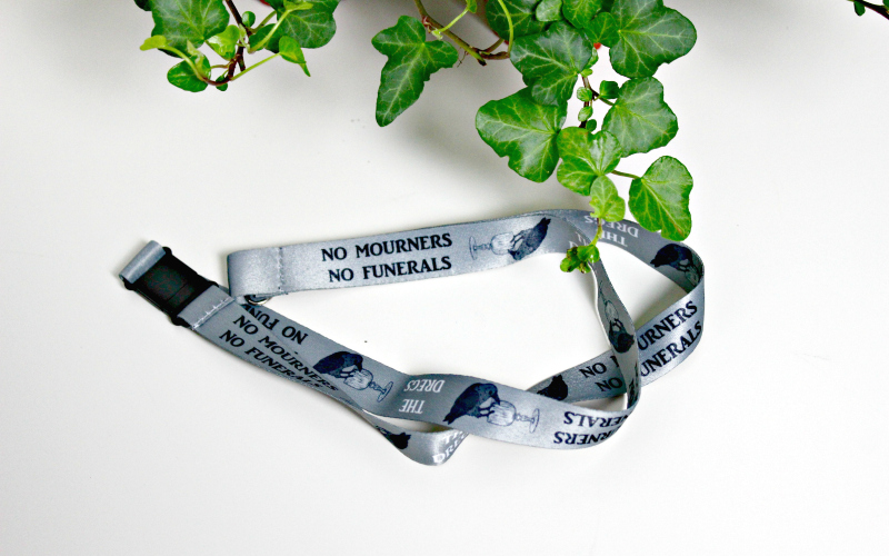 No Mourners No Funerals Lanyard