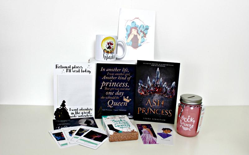 Celebrate Books box - Royals 2
