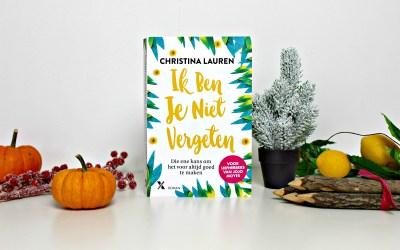 Boekrecensie | Ik ben je niet vergeten – Christina Lauren