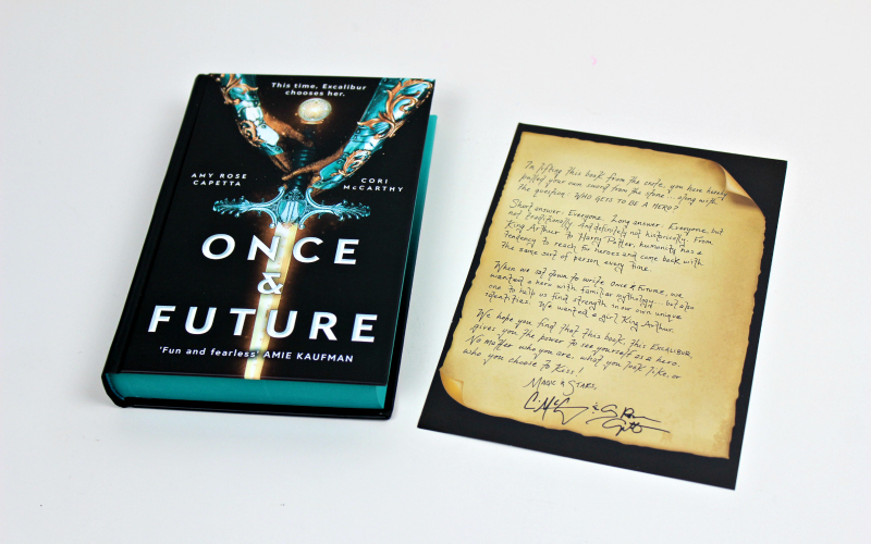 Once & Future by Amy Rose Capetta & Cori McCarthy