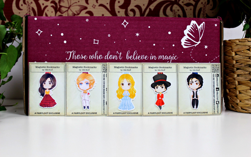 Magnetic Bookmark Set