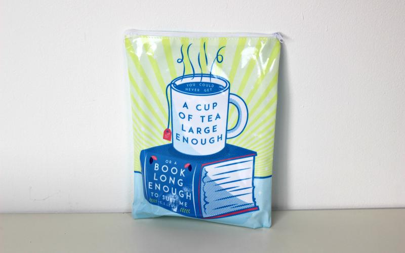 Tea and Books Booksleeve