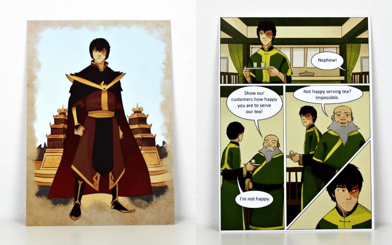 Print and Comic