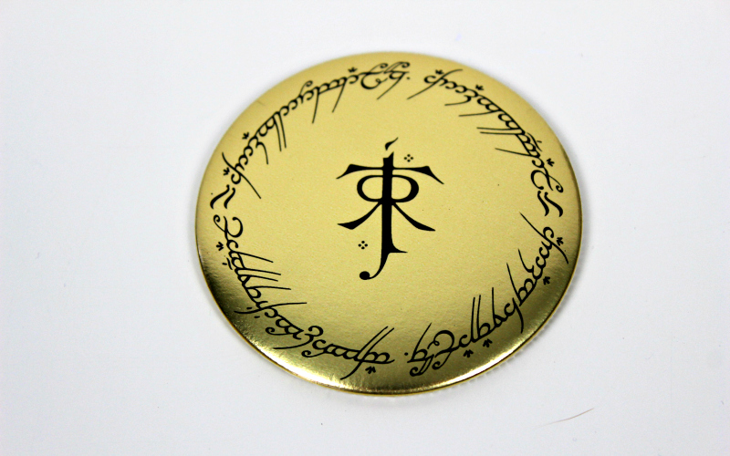 One Ring to Rule Them All Pocket Mirror
