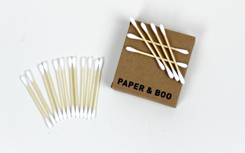 Bamboe wattenstaafjes - Paper & Boo