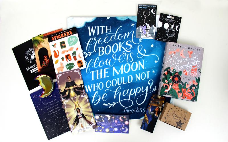 Fairyloot Moon and Stars