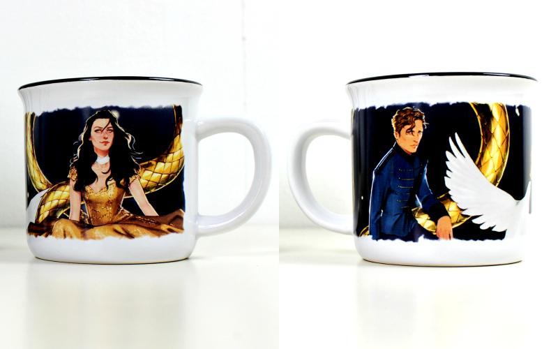 Serpent & Dove mug