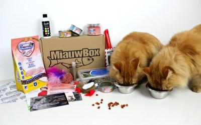 Fred & George werden 1 jaar en ik deed ze de Miauwbox cadeau!