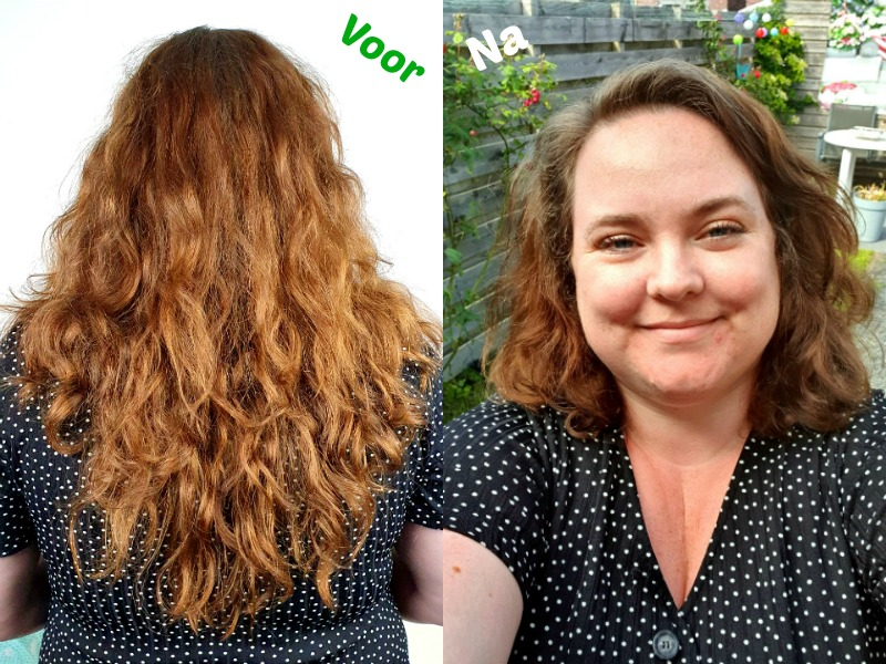 Voor en na - Haar - Kapper