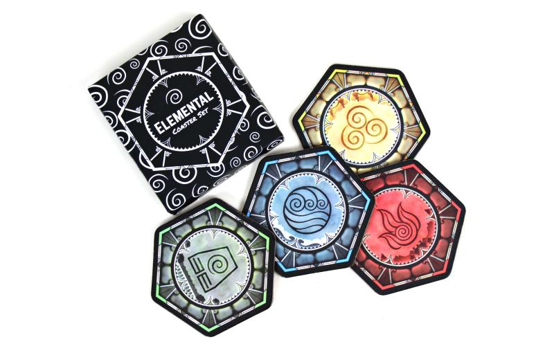Elemental Coasters