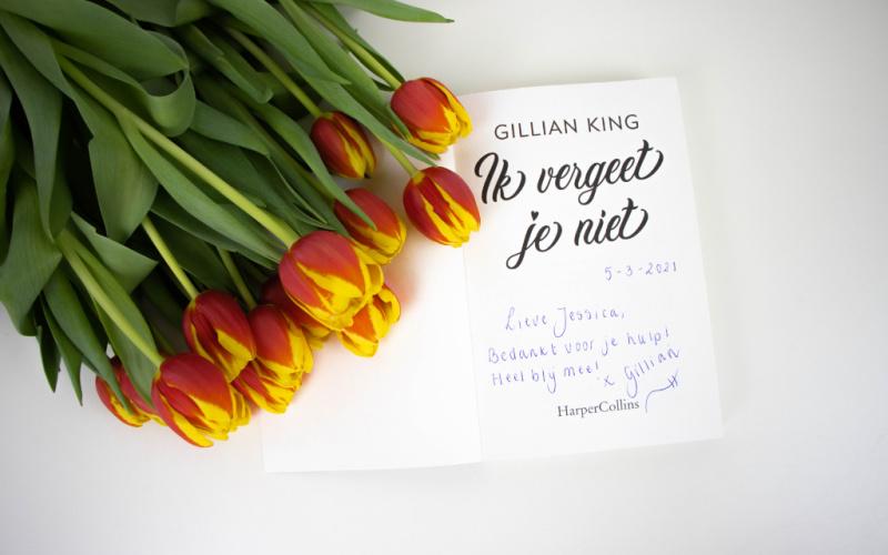 Gillian King - Ik vergeet je niet