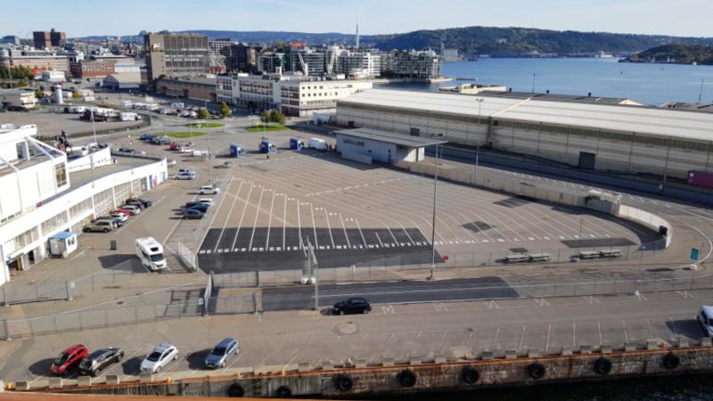 Parkeerplaats voor ColorLine